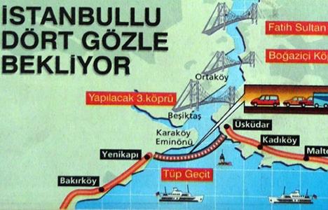 1998 yılında Boğaz'a hem köprü hem tüpgeçit!