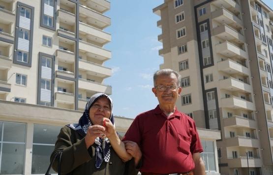 Kahramanmaraş Yusuflar kentsel dönüşüm projesinde evler teslim edilmeye başlandı!