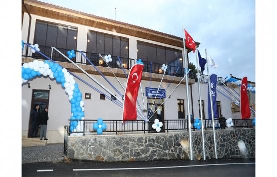 Bursa Büyükşehir'den Gelemiç'e mahalle konağı!