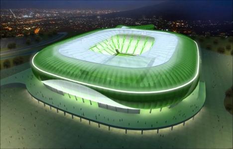 Timsah Arena'nın iç