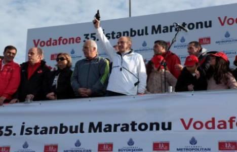 İstanbul Maratonu renkli