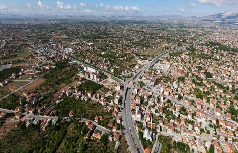Konya Meram'da 33.5