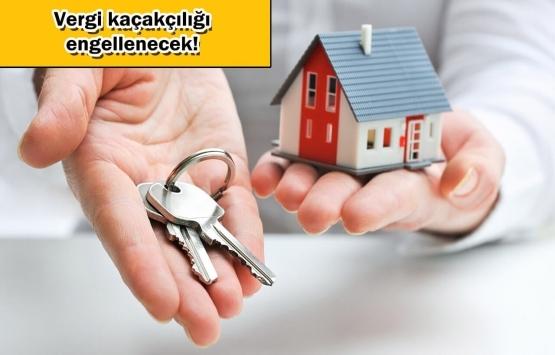 Kayıt dışı kiralanan evlere pankartlı önlem!
