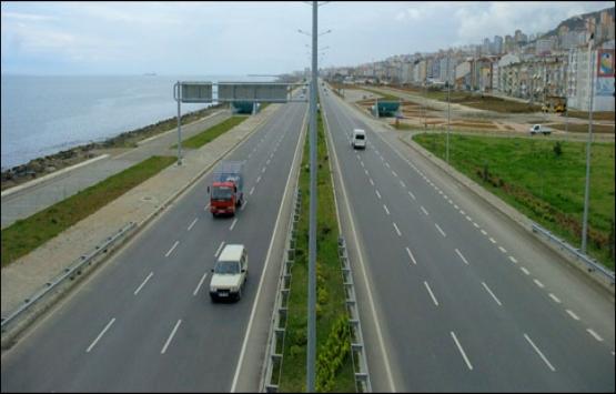 Karadeniz Sahil Yolu'nun