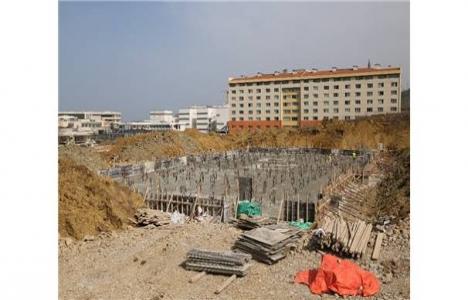 Odü Rektörlük Binası inşaatı devam ediyor!