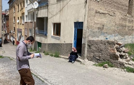 Kayseri Develi'de kentsel dönüşüm için saha tespitleri tamamlandı!