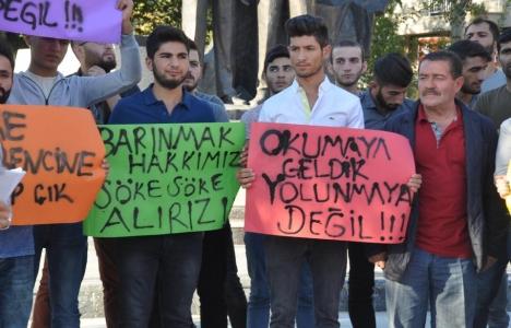 Söke Meslek Yüksekokulu öğrencilerinden kira isyanı!