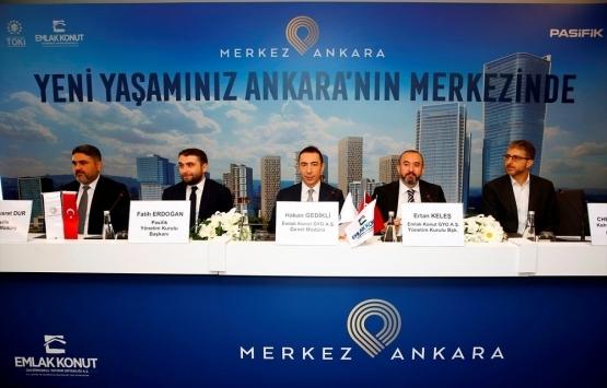 Merkez Ankara'nın lansmanı yapıldı! Metrekaresi 5 bin 500 TL'ye!