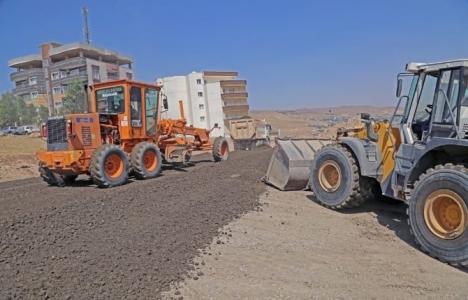 Cizre'de imara açılan sokakların altyapı çalışmaları başladı!