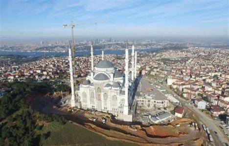 İşte Çamlıca Camisi'nin