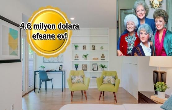 Altın Kızlar dizisinin çekildiği ev satıldı!