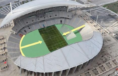 istanbul olimpiyat stadı yeni hali