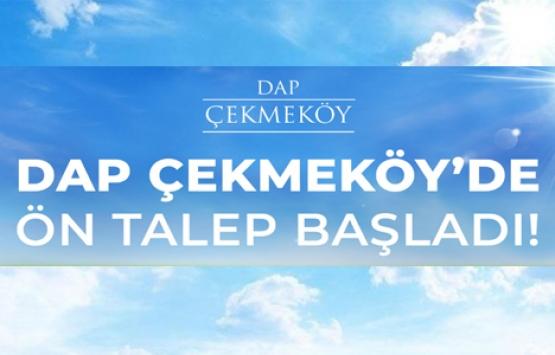 Dap Çekmeköy'de ön talep toplanıyor! Yeni proje!