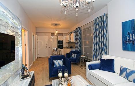 Fortis İstanbul, örnek dairesiyle fark yaratıyor!