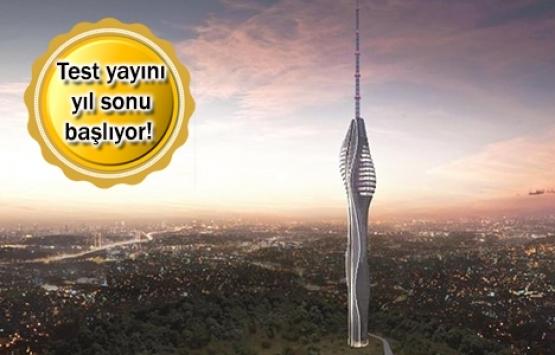 Çamlıca TV Kulesi'nin yüzde 85'i tamamlandı!