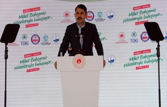 Murat Kurum: Şehirlerimize kazandıracağımız yeni eserlerin temelini atıyoruz!