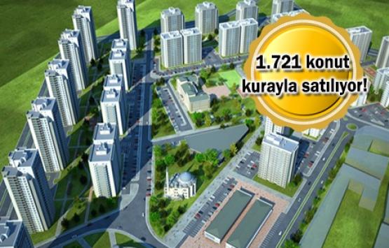 TOKİ'den 645 TL taksitle ev sahibi olma fırsatı!