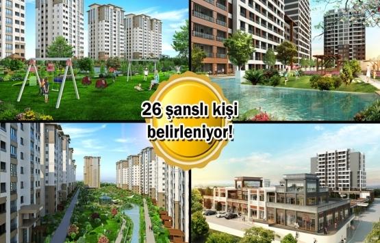 Tual Bahçekent ve Avrupark'ta son 26 daire için kura çekimi bugün!