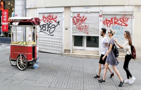 Ünlü caddelerde kiralar