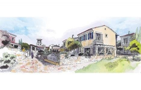 Mimarin Köyce Alaçatı