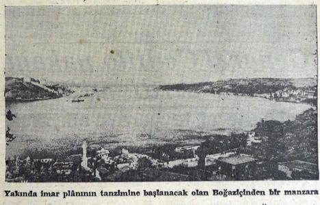 1938 yılında Boğaziçi'nin