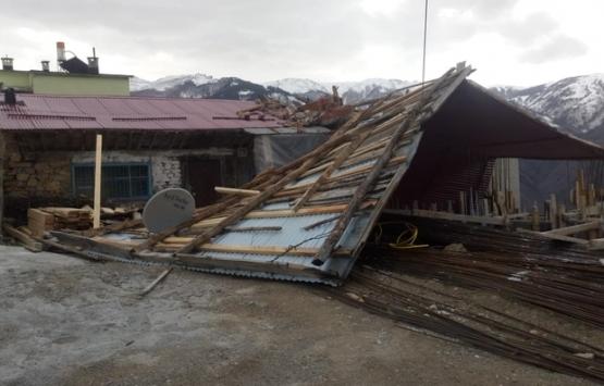 Trabzon'da 200 konut ve 4 kamu binası zarar gördü!