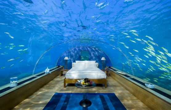Maldivler'de dünyanın ilk deniz altı oteli inşa ediliyor!