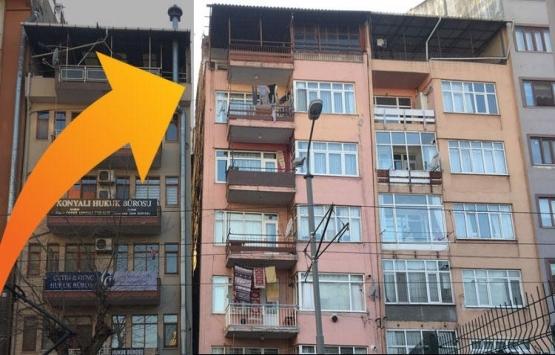 Hasarlı binalar korkutuyor!