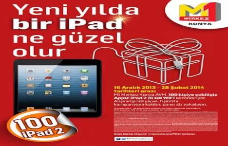 M1 Merkez Konya AVM'deki cazip alışveriş kampanyası 28 Şubat'ta bitiyor!