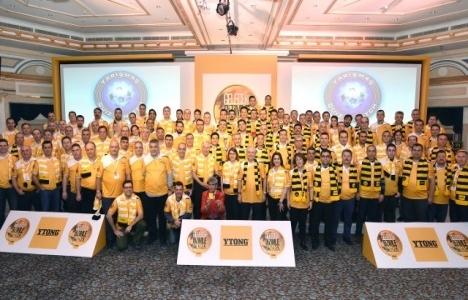Türk Ytong'un tüm yetkili satıcıları Çeşme'de toplandı!