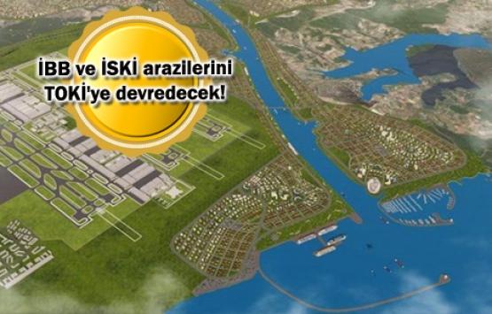 Kanal İstanbul'un etrafında