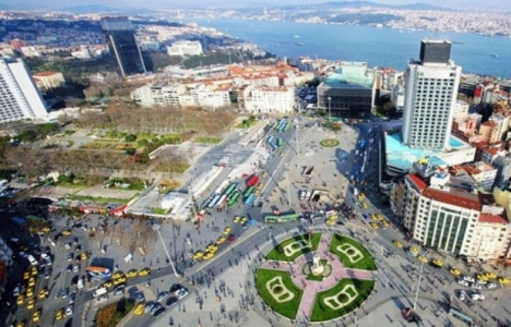 Taksim Meydan Düzenleme