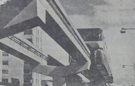 1964 yılında Havai Metro'nun kurulması teklif edilmiş!