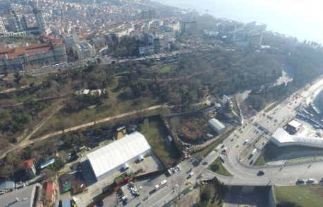 Maçka Parkı havadan