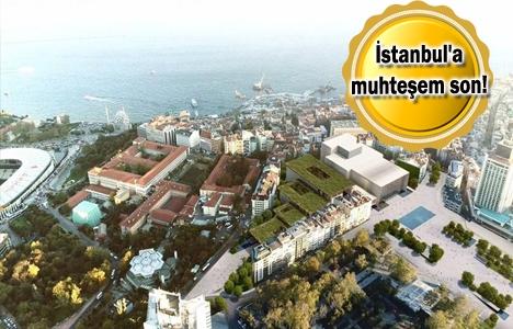 Tüm İstanbul meydanlarını