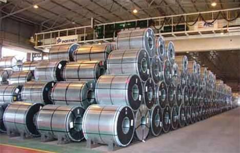 Çelik ihracatı ilk