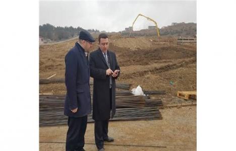 Bilecik Manişar Parkı'nda inşaat sürüyor!