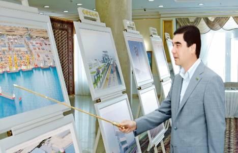 Türkmenistan'ın en büyük liman için geri sayım başladı!