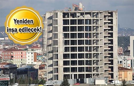Türk Telekom'un Ümraniye'deki yeni yönetim binası yıkılıyor!