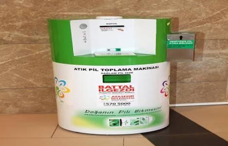 Ataşehir'de Atık Pil Toplama Yarışması yeniden başlıyor!