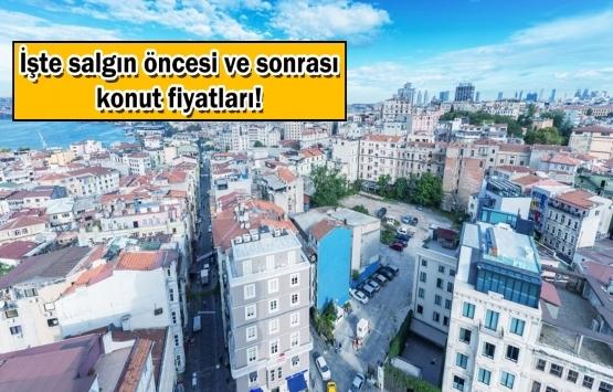 İstanbul'un bu ilçelerinde konut sahibi olan yaşadı!