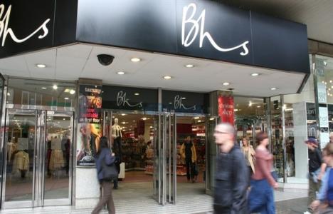 BHS mağazalarını kapatma