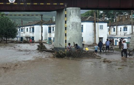 Kuzey Hwanghae'deki selde 179 sosyal konut hasar gördü!