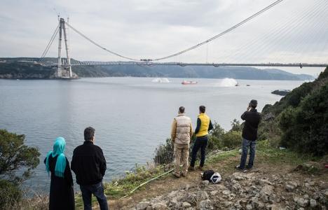 Üçüncü köprünün geçiş