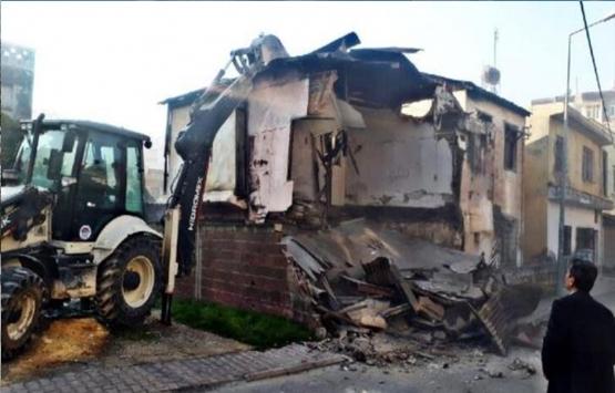 Mersin'deki metruk binalar yıkılıyor!