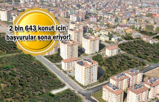 TOKİ'den 6 bin