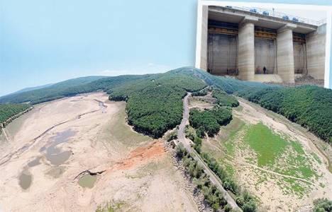 Pabuçdere Barajı tamamen