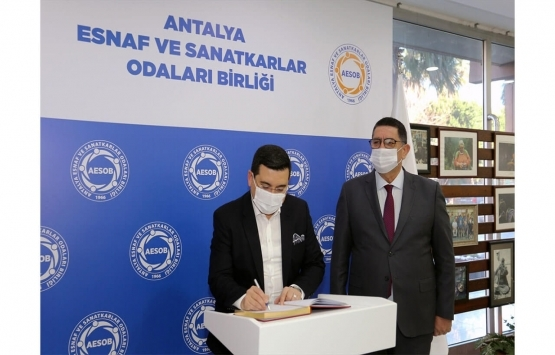 Antalya Kepez'de 411 esnaf, 6 aylık kiradan muaf!