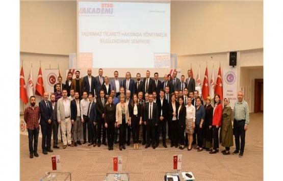 Bursa'da Taşınmaz Ticareti