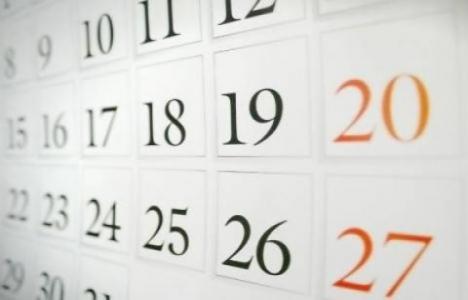 Vergi takvimi Ocak